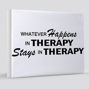THERAPY 8x10 Canvas Print