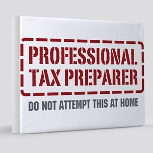 wg433_Tax-Preparer 8x10 Canvas Print