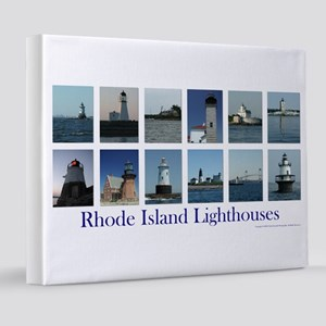 RI Lighthouses 2002 8x10 Canvas Print