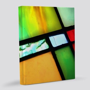 Stained Glass 8x10 Canvas Print
