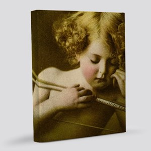 Cupid Asleep 8x10 Canvas Print