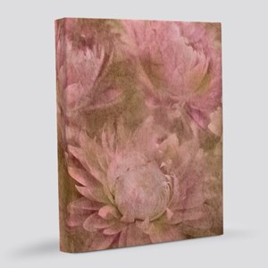 Vintage Flowers 8x10 Canvas Print