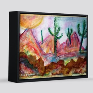 Desert! Southwest art! 8x10 Canvas Print