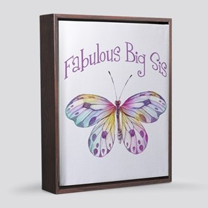 Fabulous Big Sis Butterfly 8x10 Canvas Print