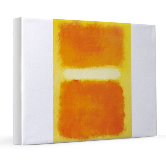 ROTHKO ORANGE AND WHITE LIGHT