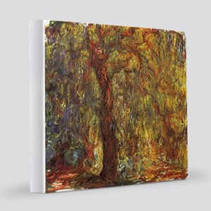 Weeping Willow by Claude Monet 12x12 Canvas Print