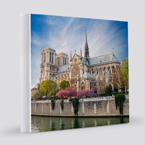 Notre Dame Cathedral 12x12 Canvas Print