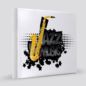 Jazz 12x12 Canvas Print