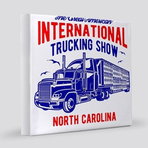 International Trucking Show Nor 12x12 Canvas Print