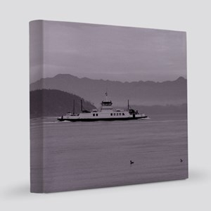 Guemes Ferry 12x12 Canvas Print