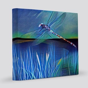 Dragonfly Pond 12x12 Canvas Print