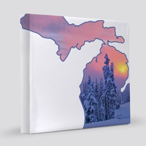 Michigan  12x12 Canvas Print