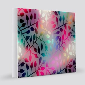 Leaf Rainbow 12x12 Canvas Print