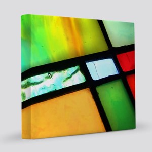 Stained Glass 12x12 Canvas Print