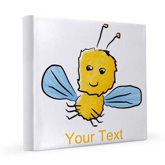 Yellow Bug with Text.