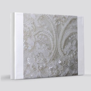 boho chic french lace 11x14 Canvas Print