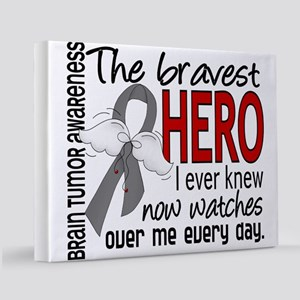 D Brain Tumor Bravest Hero I Ever Knew 11x14 Canva