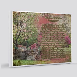 Blessed Assurance Aged 11x14 Canvas Print