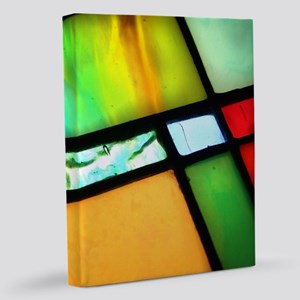 Stained Glass 11x14 Canvas Print