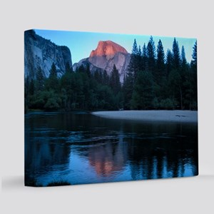 Half Dome sunset in Yosemite National Park 11x14 C