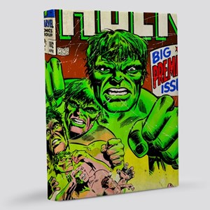 The Incredible Hulk Big Premier 11x14 Canvas Print