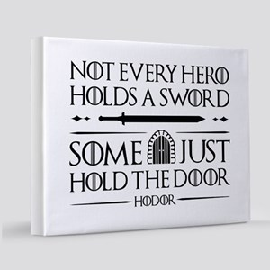 GOTHodorHoldSwords1A 11x14 Canvas Print