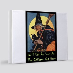 2-WITCH - WELL EAT 10x14 11x14 Canvas Print
