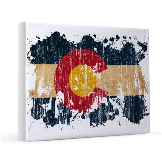 Colorado textured splatter aged copy
