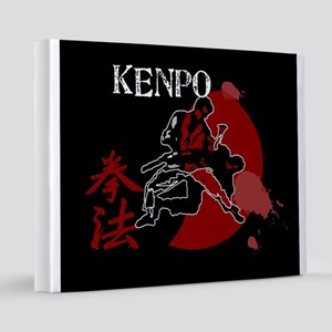 Kenpo Fighting 16x20 Canvas Print
