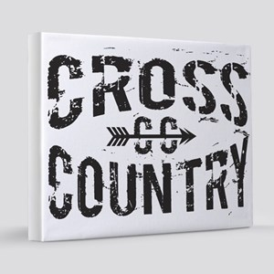 cross country 16x20 Canvas Print