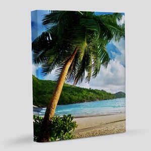 Tropical Beach 16x20 Canvas Print