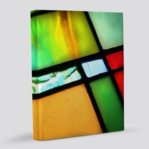 Stained Glass 16x20 Canvas Print