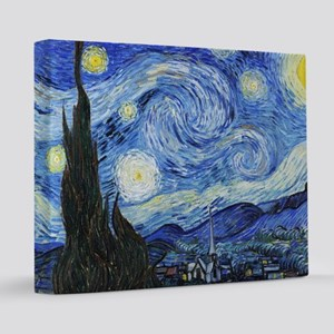 The Starry Night by Vincent Van Gogh 16x20 Canvas