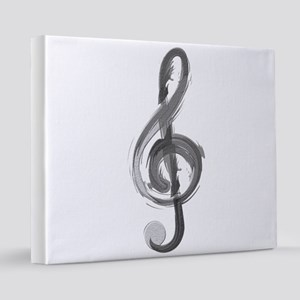 TREBLE CLEF 16x20 Canvas Print