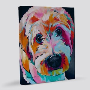 Wheaten Terrier Kirby Jane 16x20 Canvas Print