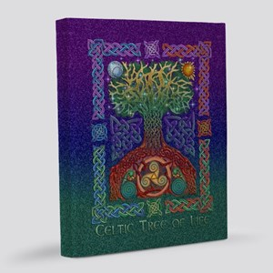 Celtic Tree of Life 16x20 Canvas Print