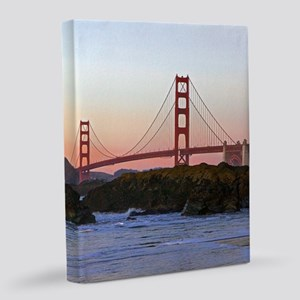 GoldenGateBridge_2014_1101 16x20 Canvas Print