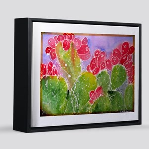 Cactus! Southwest art! 16x20 Canvas Print