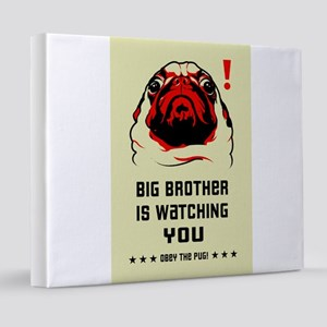 pug_big_bro_mini 20x24 Canvas Print