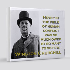 Never In The Field Of Human Conflict - Churchill 2