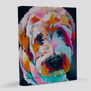Wheaten Terrier Kirby Jane 20x24 Canvas Print