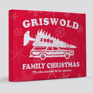 Griswold Family Christmas 20x24 Canvas Print
