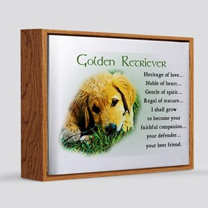 Golden Retriever Puppy 20x24 Canvas Print