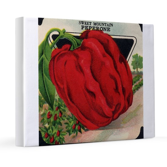 Red Bell Pepper antique seed packet
