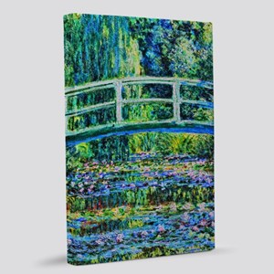 Monet - Water Lily Pond 20x30 Canvas Print