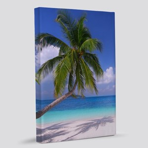 Tropical Beach 20x30 Canvas Print