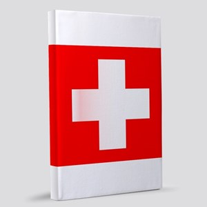 Swiss National Flag 20x30 Canvas Print