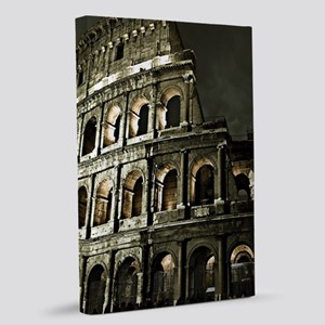 Coliseum At Night 20x30 Canvas Print