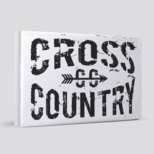 cross country 20x30 Canvas Print
