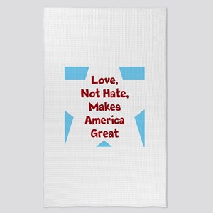 Love Makes America Great Tea Towel